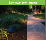 Lay your own paving