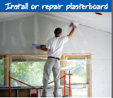 Install or repair plasterboard