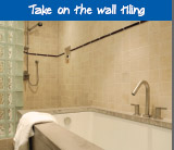 Take on the wall tiling