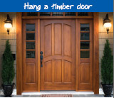 Hang a timber door