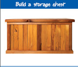 Build a storage chest