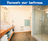 Renovate your bathroom