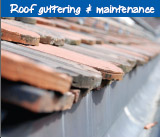 Roof guttering & maintenance