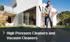 Vacs & High Pressure Cleaners