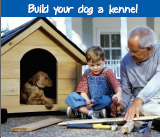 Build your dog a kennel