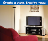 Create a home theatre room